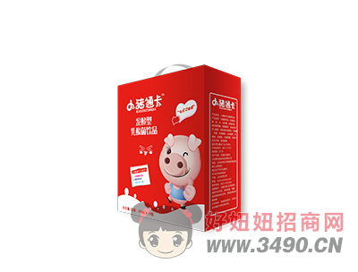 小�i通卡草莓味乳酸菌200mx16瓶