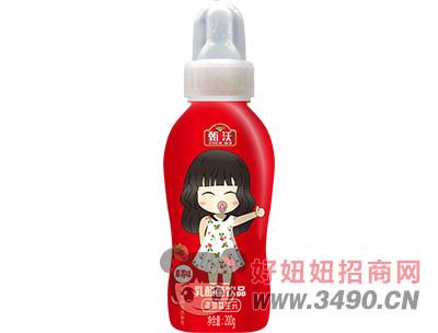 甄沃�奶嘴草莓味乳酸菌200g
