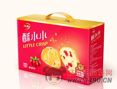 开口福蔓越莓味零食礼盒380g