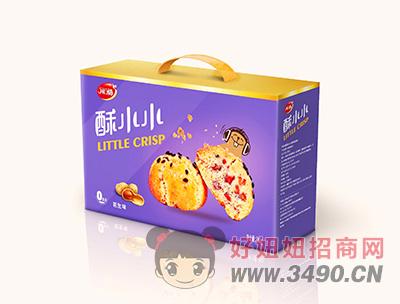 开口福花生味零食礼盒380g
