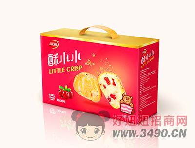 开口福山蔓越莓味零食礼盒380g