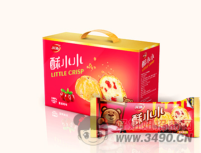开口福山蔓越莓味零食礼盒装380g