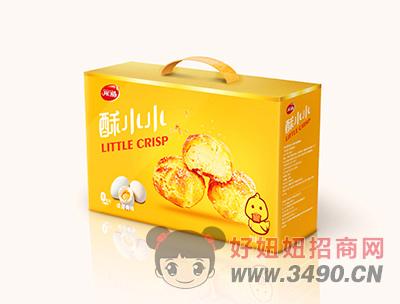 开口福咸蛋黄味零食礼盒380g