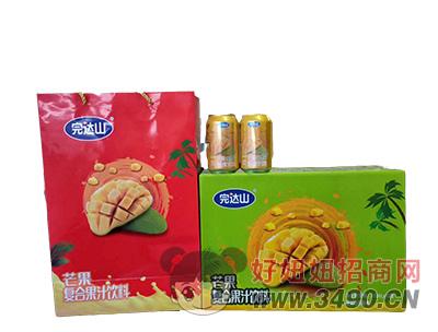 芒果果汁饮料礼盒套装