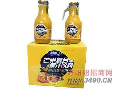 芒果果汁饮料箱装
