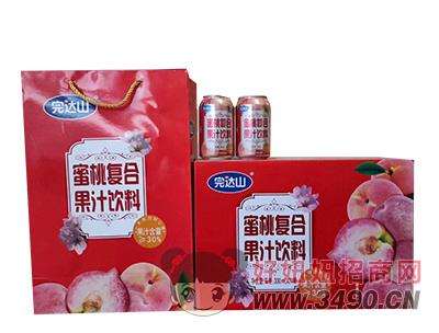 蜜桃果汁饮料礼盒装