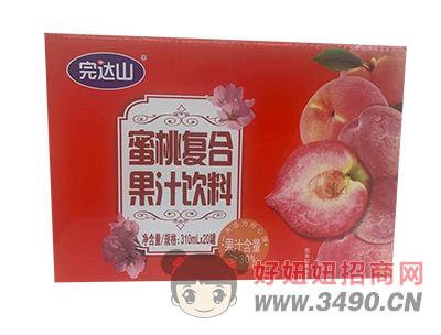 蜜桃复合果汁饮料箱装