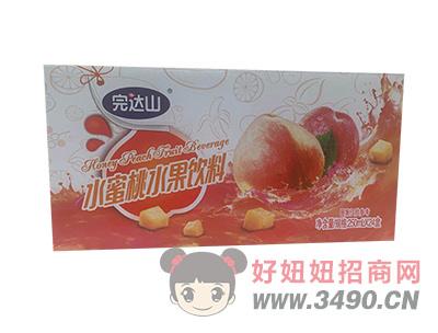 水蜜桃水果饮料箱装