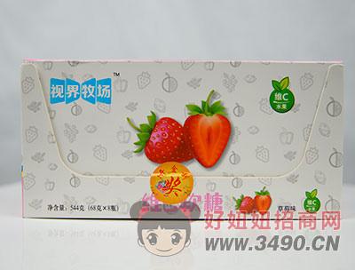 维C软糖草莓味箱装