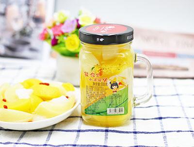 复合型水果罐头508克