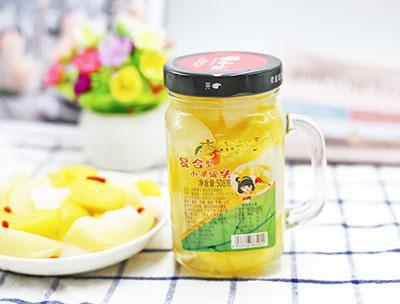 复合型水果罐头