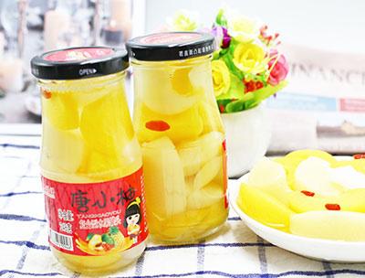 唐小柚水果罐头