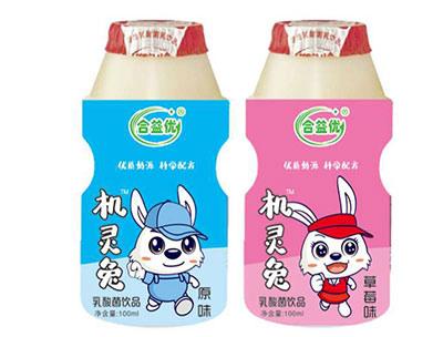 机灵兔乳酸菌 原味 草莓味饮品