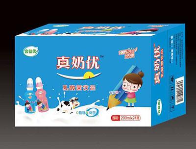 真奶优乳酸菌饮品箱装