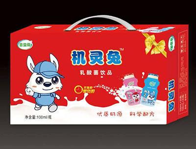 机灵兔乳酸菌饮品箱装