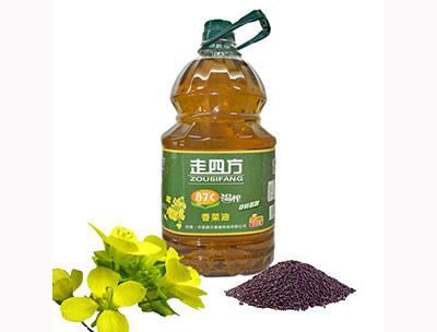 5L87度温榨香菜油