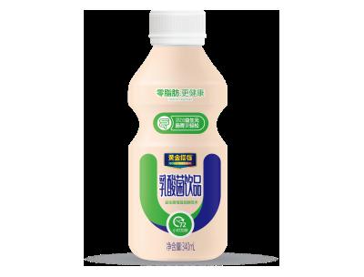 黄金搭档乳酸菌饮品340ML(单瓶)