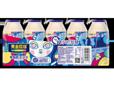 黄金搭档乳酸菌饮品(蓝色5连瓶)