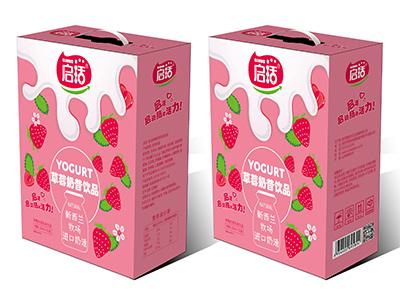 启活草莓奶昔250ml×12