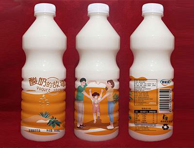 酸奶的故事900ml橙