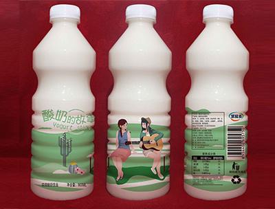 酸奶的故事900ml绿