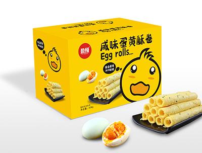 咸味蛋黄酥卷358g