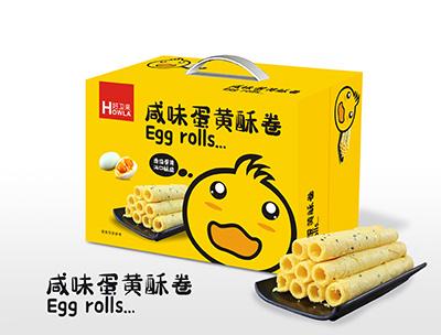 咸味蛋黄酥卷手提礼盒装