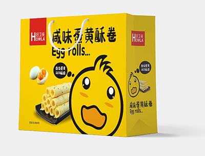 咸味蛋黄酥卷
