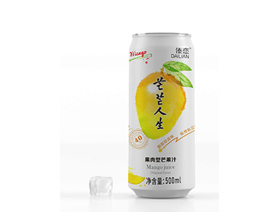 茫茫人生果肉型芒果汁500ml