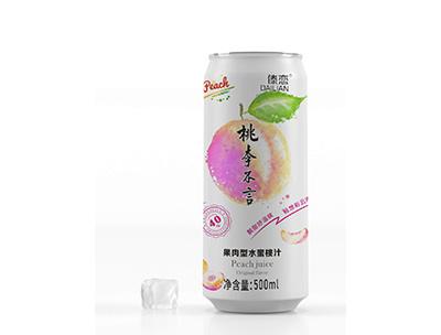 桃李不言果肉型水蜜桃汁500ml
