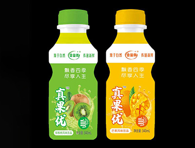 真果���J猴桃�L味、芒果�L味瓶�b