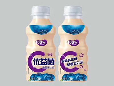 优益菌乳酸菌饮品340ml蓝莓味