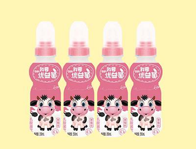 优益菌乳酸菌饮品200ml草莓味