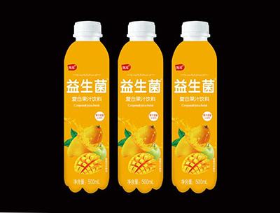 益生菌复合果汁饮料芒果味500ml
