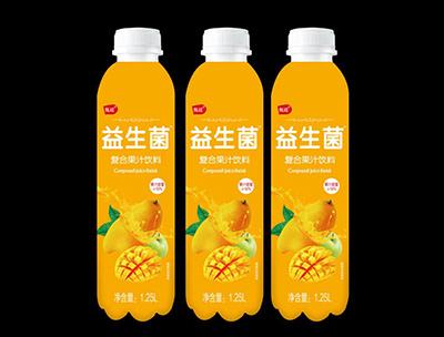 益生菌复合果汁饮料芒果味1.25L
