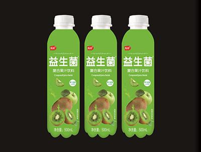益生菌复合果汁饮料猕猴桃味500ml