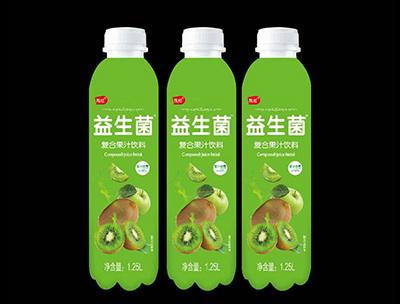 益生菌复合果汁饮料猕猴桃味1.25L