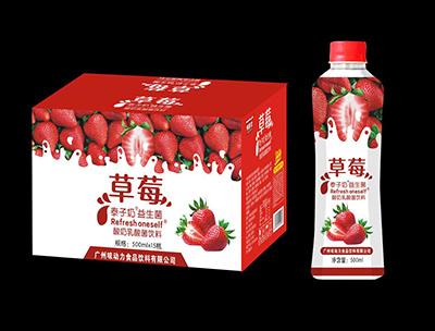 泰子奶益生菌草莓味500ml