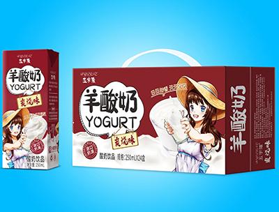 羊酸奶碳��味250mlX24盒
