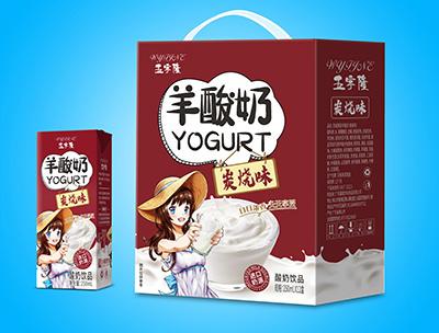 羊酸奶碳��味250mlX12盒
