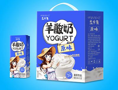 羊酸奶原味250mlX12盒