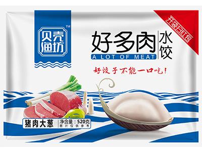 好多肉水饺猪肉大葱馅520g