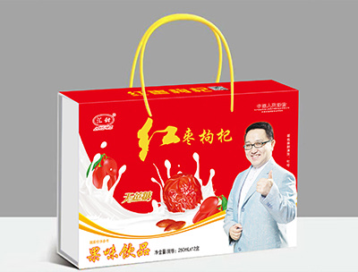 汇田红枣枸杞果味饮品250ml×12
