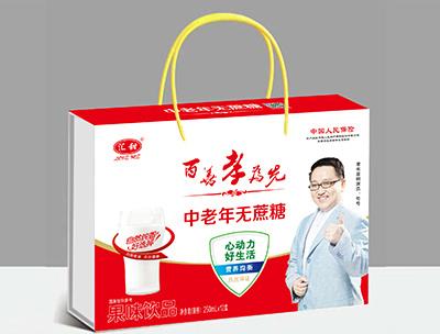 汇田中老年无蔗糖果味饮品250ml×12