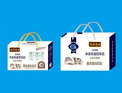 馨畅食品中老年高钙牛奶250ml×12