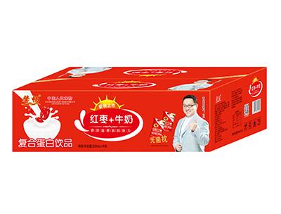 馨畅红枣+牛奶250ml×16