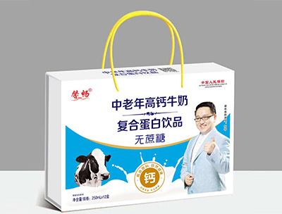 馨畅中老年高钙牛奶250ml×12