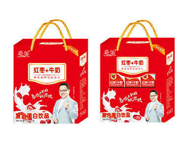 馨畅红枣+牛奶250ml×12
