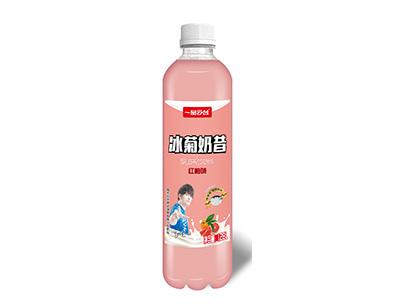 冰菊奶昔�t柚乳味�料1.28L