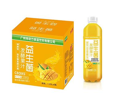 益生菌发酵芒果汁1.25LX6瓶